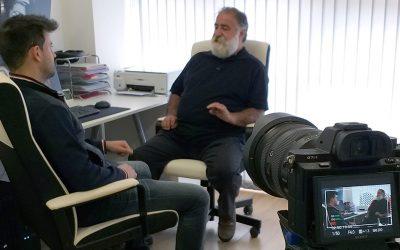 Entrevista con Javier Pérez de Andrés para El Arcón
