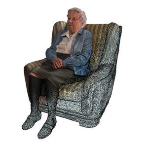digitalización 3D persona real
